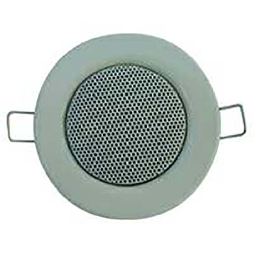 PROFI Mini Lautsprecher Boxen Box Einbaulautsprecher Optik Halogen 60mm 6cm weiß