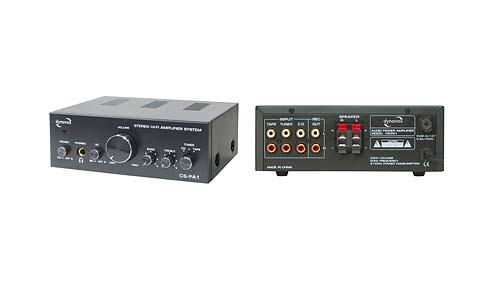 PROFI mini Hifi Verstärker Bass Audio Endstufe mobiler Amplifier PC Sound 2x50W
