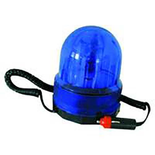 Blaue Rundumleuchte 12V Auto KFZ PKW mit Magnet Magnetfuß KEIN Polizei Blaulicht