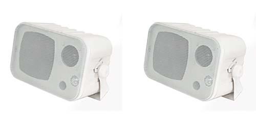 PROFI 2 Mini Lautsprecher Box Boxen Set PAAR 3 Wege Wandmontage Deckenhalter