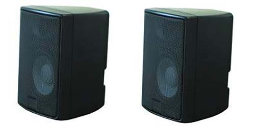 PREMIUM Lautsprecher BOX Bass Minibass KLANGWUNDER 60w Klippfix 2 Boxen Set PAAR