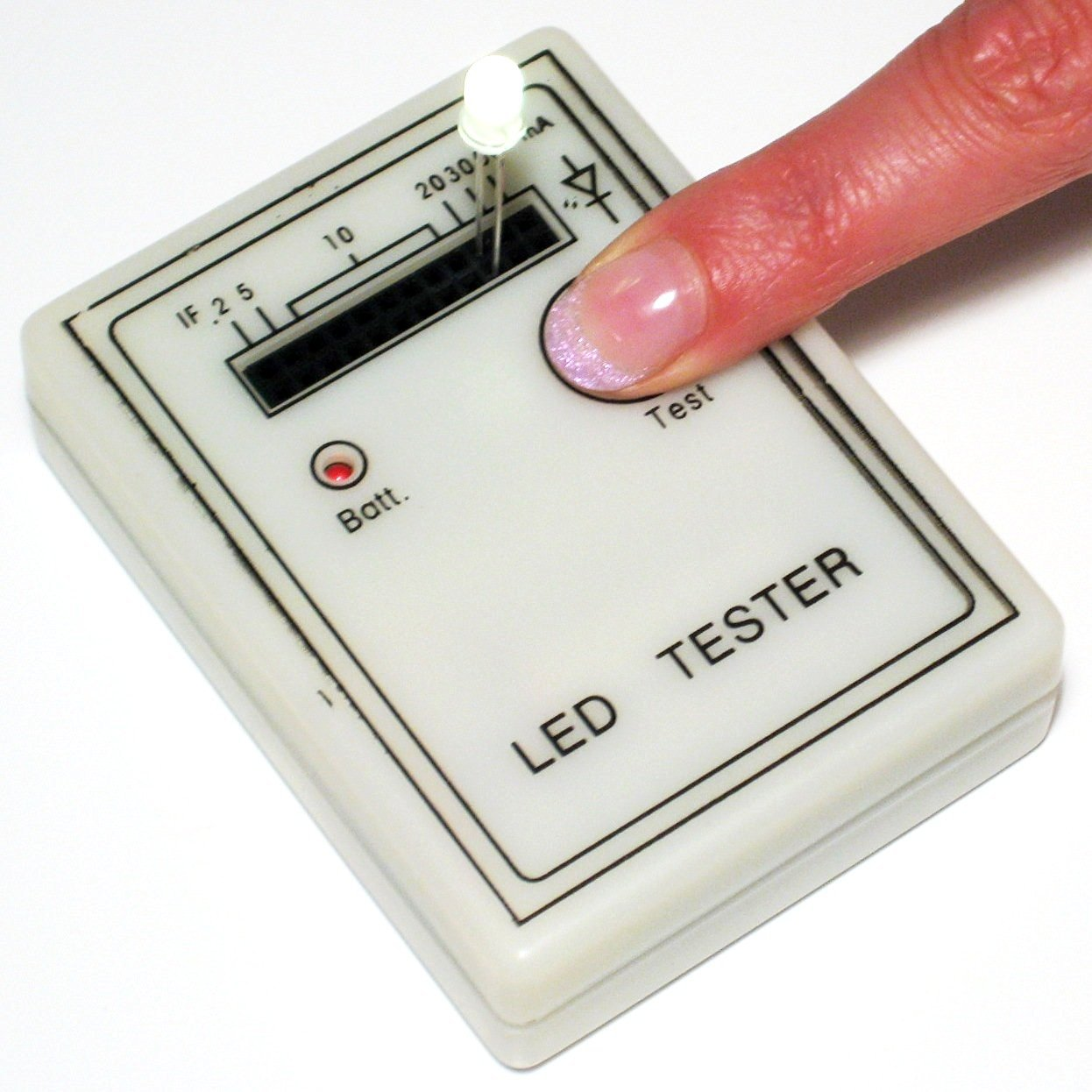 PROFI LED Tester Testgerät LEDs Funktion Farbe leuchten testen Prüfung Test
