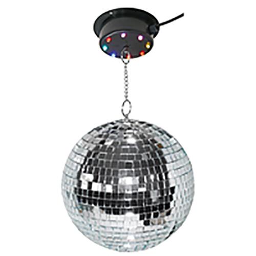 Disco LED DJ Discokugel Motor beleuchtet Lichteffekt Beleuchtung Spiegelkugel
