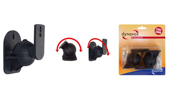 PROFI Paar Lautsprecher Wandmontage 2 Wandhalter Wandhalterung Box Boxen SET