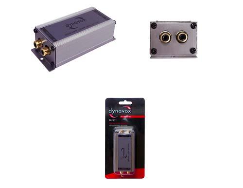 PROFI Hifi Stereo Line Isolator Massetrennfilter Signalstörung Entstörer Kfz PC
