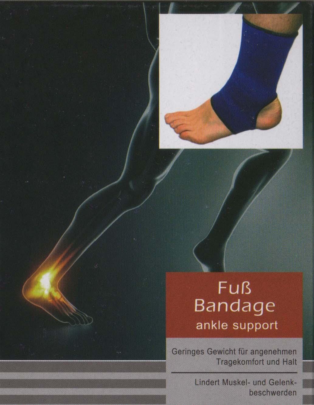 PROFI Fuß Bandage Knöchelstütze Gelenkstütze Gelenk Stützbandage Füße Knöchel