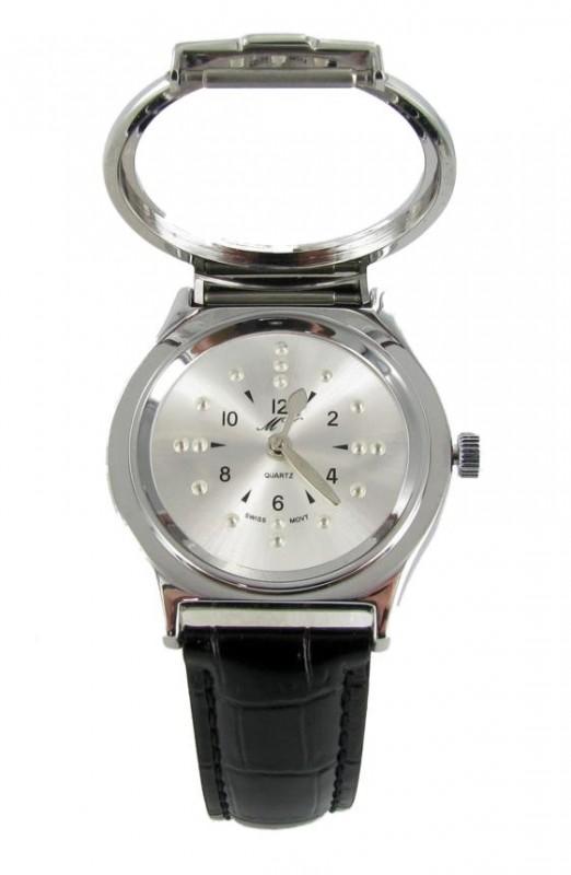 PRO Taktile Armbanduhr für Blinde Blindenuhr Uhr DAMEN fühlbare Zeiger Stunden