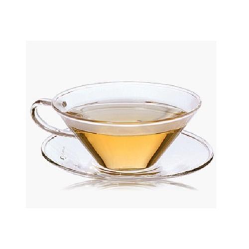 LUXUS Designer Teetasse 2er Set Glas Tee Erblühtee HANDARBEIT Creano Tasse