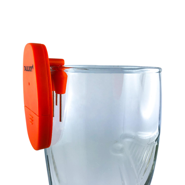 ALARM Getränke Füllstandsmelder akustisches Warnsignal Überlaufschutz für Blinde